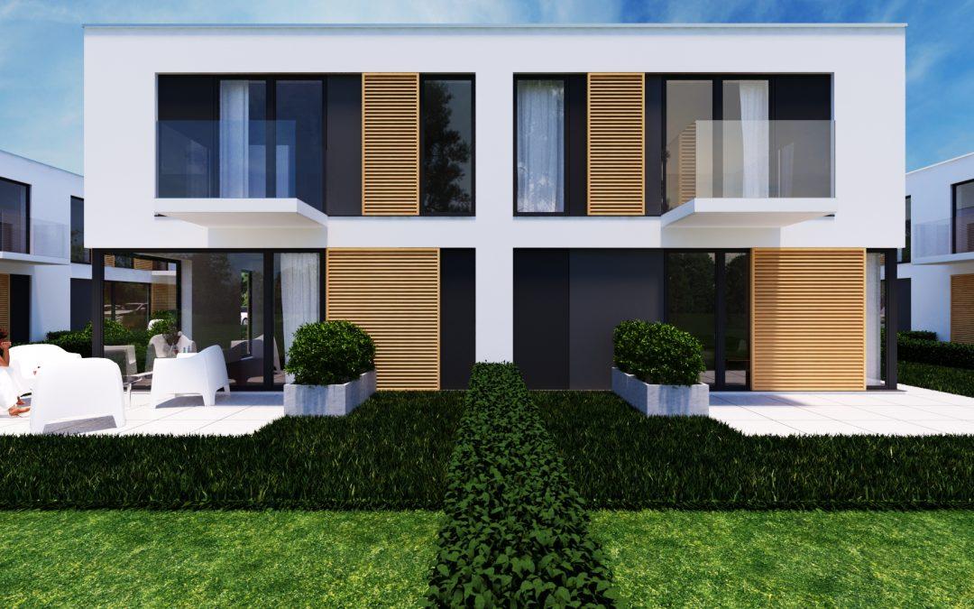 Rozpoczęcie budowy Domino Garden